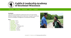 Preview of caddieacademy.org